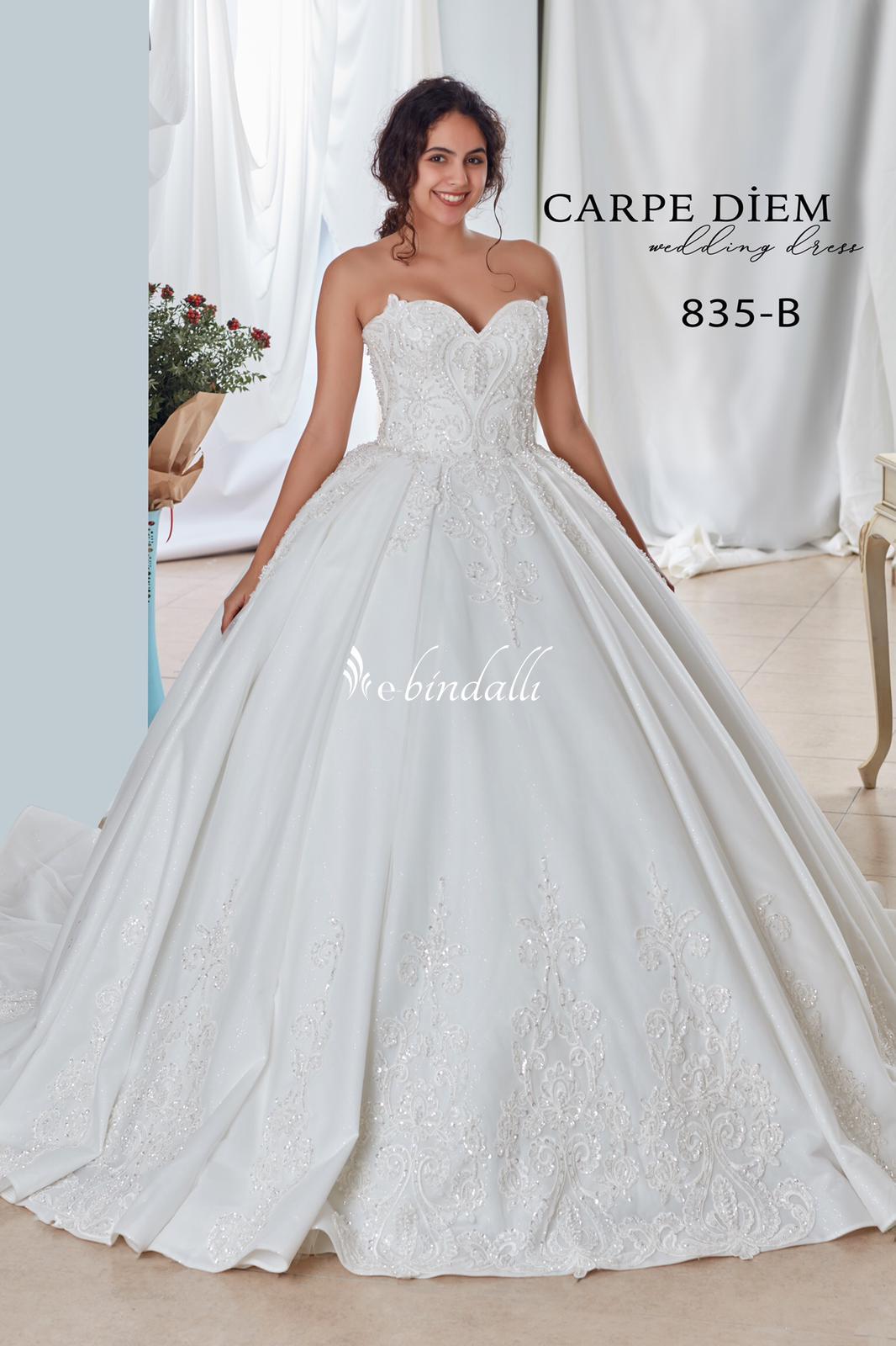 835 CarpeDiem فستان الزفاف