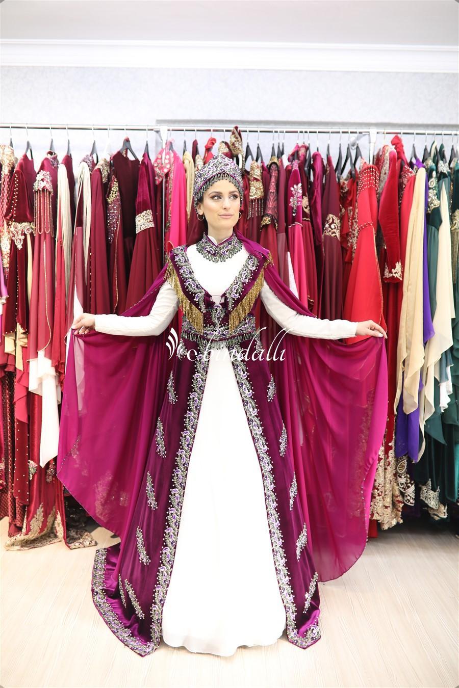 Kiralık Tesettür Bindallı Madonna 36-38 Beden (izmir mağaza)