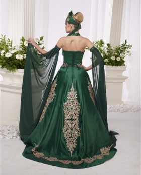 Kaftan - green