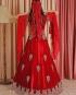 Red Velvet Kaftan Enb-122