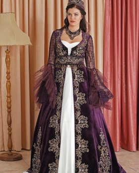 enb-127 purple  kaftan